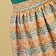 """Юбки ручной работы. Ярмарка Мастеров - ручная работа. Купить Юбочка """"Солнечное настроение"""". Handmade. Оранжевый, жаккард"""