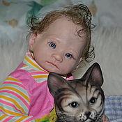 Куклы и игрушки ручной работы. Ярмарка Мастеров - ручная работа Мини - реборн Кирстен. Handmade.