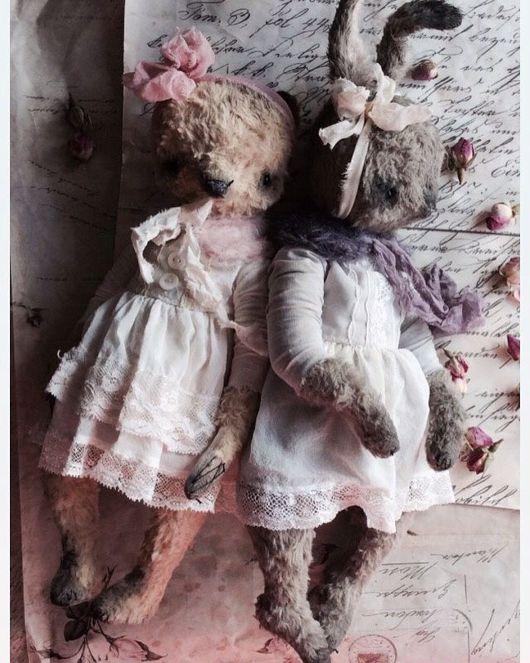 """Куклы и игрушки ручной работы. Ярмарка Мастеров - ручная работа. Купить Зайка """" молочные реки, кисельные берега """". Handmade."""