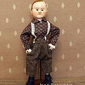 Куклы и игрушки ручной работы. Ярмарка Мастеров - ручная работа Том. Репродукция кукол Izannah Walker. Handmade.