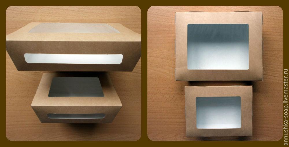 Коробки для изделий ручной работы