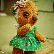Куклы и игрушки ручной работы. Ярмарка Мастеров - ручная работа Мишка Забава. Handmade.