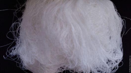 """Валяние ручной работы. Ярмарка Мастеров - ручная работа. Купить Итальянские нити из вискозы """"Абсолют"""". Handmade. Белый"""