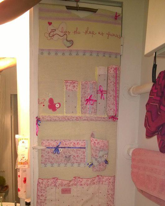 Ванная комната ручной работы. Ярмарка Мастеров - ручная работа. Купить Органайзер в ванную комнату. Handmade. Ванная маленькая
