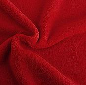 Материалы для творчества ручной работы. Ярмарка Мастеров - ручная работа Ткань Флис Красный. Handmade.