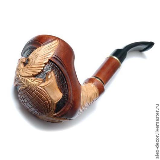 Подарки для мужчин, ручной работы. Ярмарка Мастеров - ручная работа. Купить Курительная трубка Estupedo-E11070-7. Handmade. Трубка