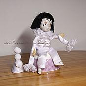 Куклы и игрушки ручной работы. Ярмарка Мастеров - ручная работа Пьеро. Деревянная шарнирная кукла.. Handmade.