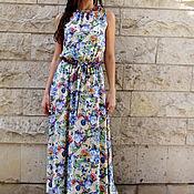 """Одежда ручной работы. Ярмарка Мастеров - ручная работа Летнее платье-сарафан """"Полевые цветы"""". Handmade."""