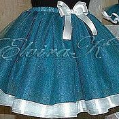 Одежда детская handmade. Livemaster - original item Dressy skirt for girls tulle. Handmade.