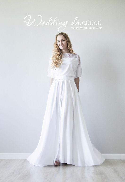 Подвенечное платье, белое