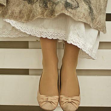 Одежда ручной работы. Ярмарка Мастеров - ручная работа Нижняя юбка, юбка с кружевом, хлопковая юбка. Handmade.