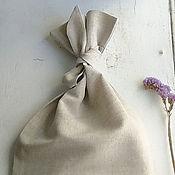 Для дома и интерьера ручной работы. Ярмарка Мастеров - ручная работа Мешочек для круп (с одной завязкой). Handmade.