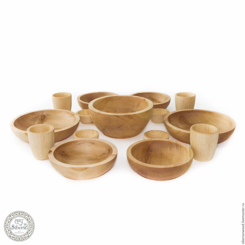 Family Set of wooden utensils for 4#25, Plates, Novokuznetsk,  Фото №1