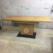 Для дома и интерьера ручной работы. Ярмарка Мастеров - ручная работа Стол раздвижной в стиле Лофт 4. Handmade.