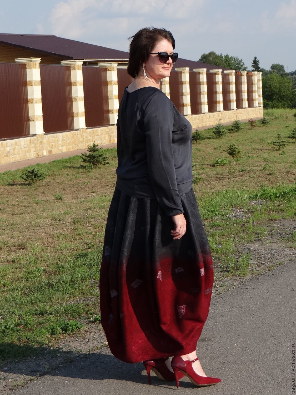 Валяная юбка-баллон, Юбки, Белгород,  Фото №1