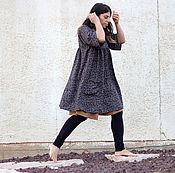 """Одежда ручной работы. Ярмарка Мастеров - ручная работа Комплект Платье-туника """"Листья"""", шорты и леггинсы. Handmade."""