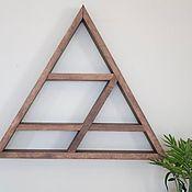 Полки ручной работы. Ярмарка Мастеров - ручная работа Полки: Треугольная полка. Handmade.
