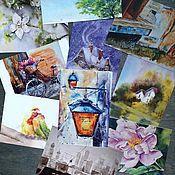 Открытки ручной работы. Ярмарка Мастеров - ручная работа Акварельные открытки. Handmade.