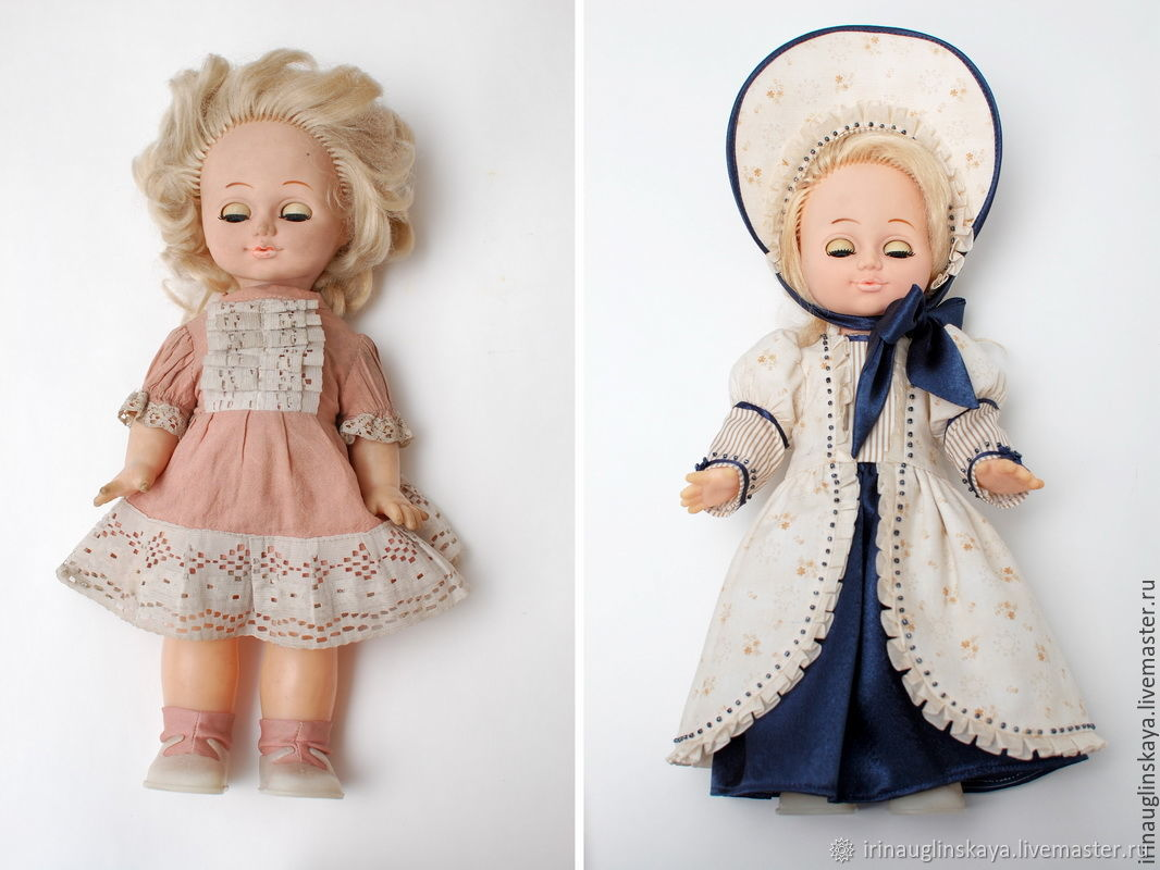 Платья Для Старых Кукол