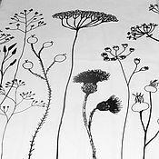 Для дома и интерьера ручной работы. Ярмарка Мастеров - ручная работа ТАНЕЦ ЦВЕТОВ - нарядная скатерть из хлопка. Handmade.