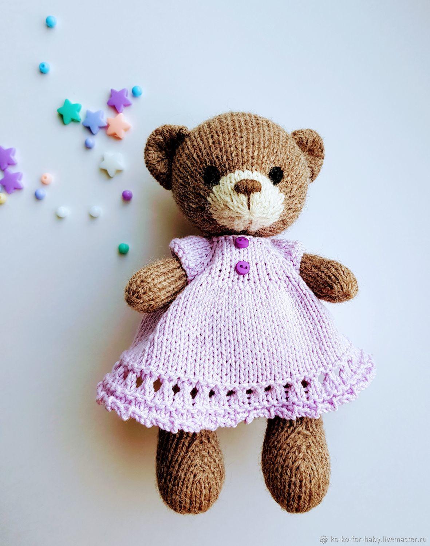 Мишка вязаный, Мягкие игрушки, Санкт-Петербург,  Фото №1
