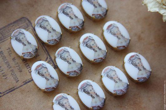 Для украшений ручной работы. Ярмарка Мастеров - ручная работа. Купить Винтажные стразы - Maria Antoinette (2). Handmade. Винтаж