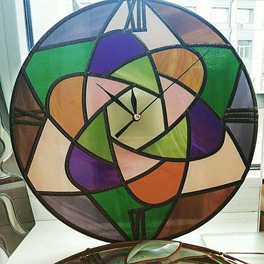 """Для дома и интерьера ручной работы. Ярмарка Мастеров - ручная работа Часы: """"Оригами"""". Handmade."""