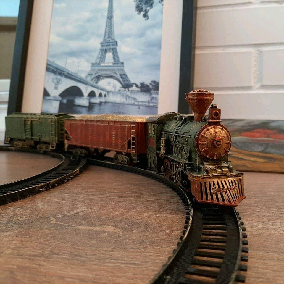 Ретро поезд и железная дорога, Техника роботы транспорт, Москва,  Фото №1