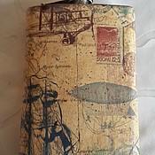 """Подарки к праздникам ручной работы. Ярмарка Мастеров - ручная работа Фляжка """"Моему путешественнику"""". Handmade."""