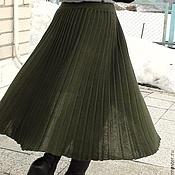 Одежда ручной работы. Ярмарка Мастеров - ручная работа Плиссированная юбочка. Handmade.