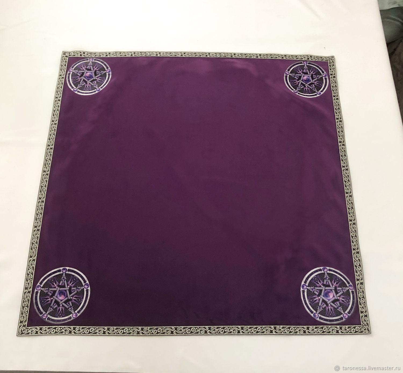 Tablecloth for divination 60h60 cm, Tarot cards, Noginsk,  Фото №1