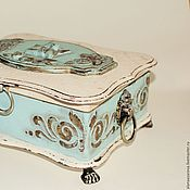 Для дома и интерьера handmade. Livemaster - original item Big box in the shabby chic style