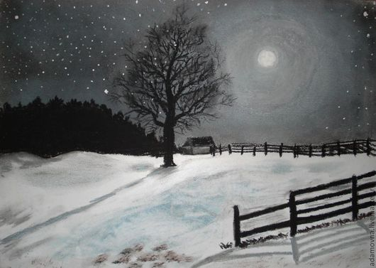 Картина Лунная ночь