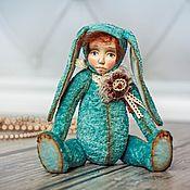 Куклы и игрушки ручной работы. Ярмарка Мастеров - ручная работа Зайка Стеша. Тедди долл.. Handmade.