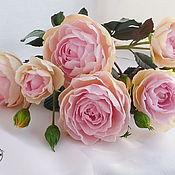 """Flowers handmade. Livemaster - original item Роза кустовая """"Флирт"""". Handmade."""
