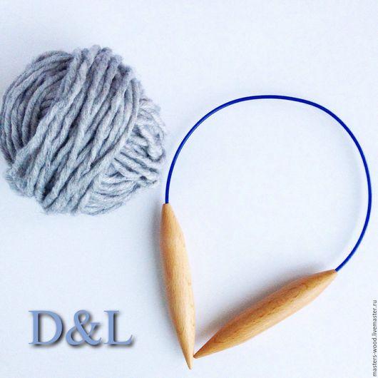 Вязание ручной работы. Ярмарка Мастеров - ручная работа. Купить Шапочные круговые спицы номер 15. Handmade. Спицы, спицами