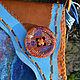 Женские сумки ручной работы. Заказать Сумка Xaymaca (Хаймака). Мастерская ГришЛАНдия (grishlandia). Ярмарка Мастеров. Ручей, кожа натуральная