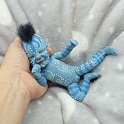 Куклы и игрушки ручной работы. Ярмарка Мастеров - ручная работа Полностью силиконовая мини дочь Аватара Юта 17см. Handmade.