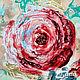 """Картины цветов ручной работы. Панно интерьерное """"Сердце розы"""". Мастерская LaNa Estilo. Ярмарка Мастеров. Панно из дерева"""