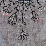Одежда ручной работы. Ярмарка Мастеров - ручная работа Летнее, льняное, стильное платье. Handmade.