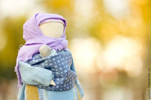 """Народные куклы ручной работы. Ярмарка Мастеров - ручная работа. Купить Народная русская  куколка-мамушка """" Небесная"""". Handmade."""