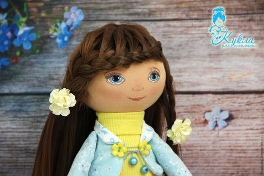 Коллекционные куклы ручной работы. Ярмарка Мастеров - ручная работа. Купить Игровая кукла. Интерьерная кукла.. Handmade. Комбинированный, шатенка