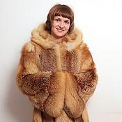 handmade. Livemaster - original item Fox fur coat. Handmade.