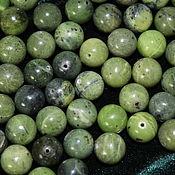 Материалы для творчества handmade. Livemaster - original item Jade, 10 mm, smooth bead (natural stone). Handmade.