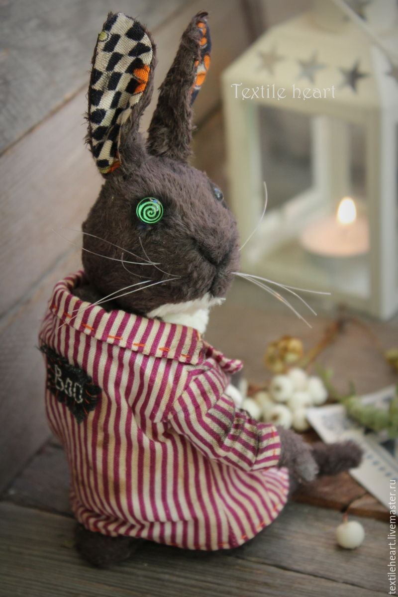 Crazy plum rabbit, Stuffed Toys, Tver,  Фото №1