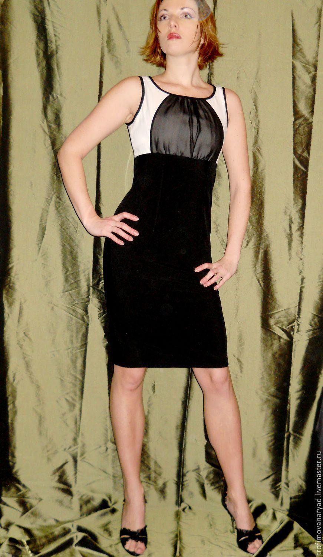 89180be418a Элегантная классика.Черно-Белое платье. Диана Трофимова (trofimovanaryad)