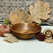 Посуда handmade. Livemaster - original item Wooden Bowl of Fir 18#60. Handmade.