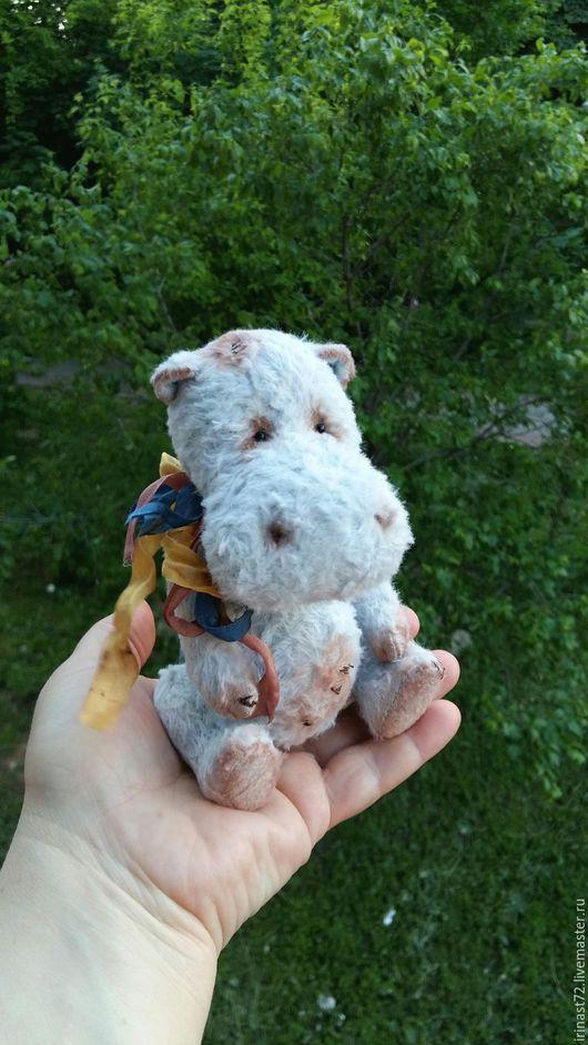 Мишки Тедди ручной работы. Ярмарка Мастеров - ручная работа. Купить Тарасик. Handmade. Голубой, тедди мишка