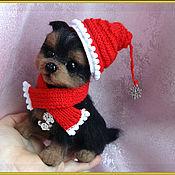 Куклы и игрушки manualidades. Livemaster - hecho a mano El perro de lana ZhUZhU. Handmade.