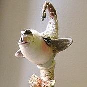 Куклы и игрушки ручной работы. Ярмарка Мастеров - ручная работа игрушка овечка ДЕНЕЖКА. Handmade.